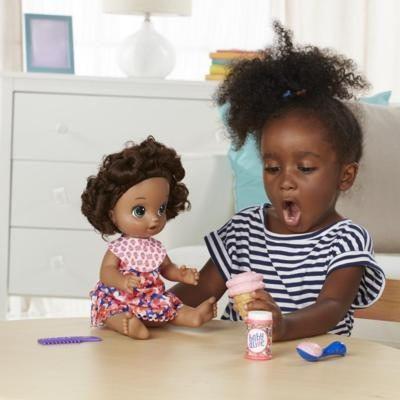 Boneca Baby Alive Sobremesa Magica Negra - Hasbro Original