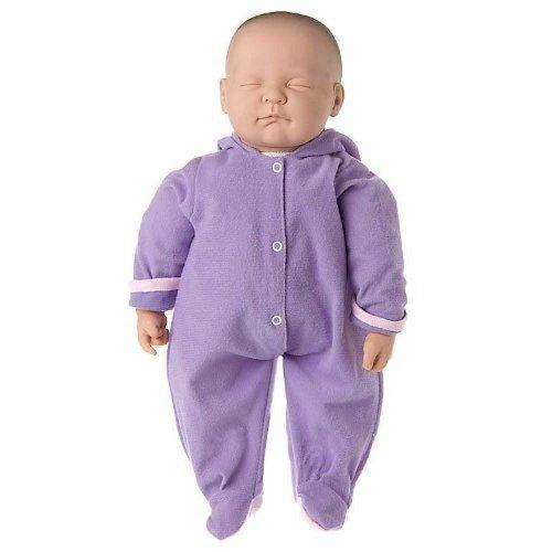Boneca Ninos Dormindo Cotiplas Branca Ref 1496 Bebê