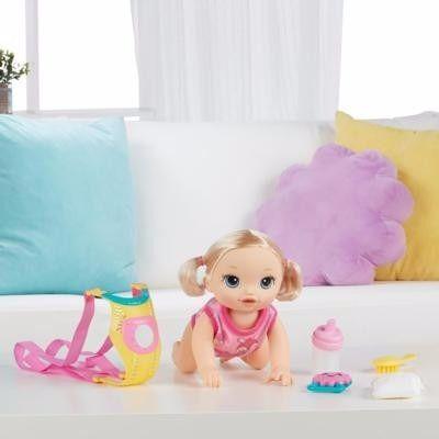 Baby Alive Vamos Passear Loira Hasbro Hora Do Passeio