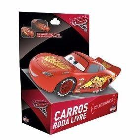Carros 3 Roda Livre - Relampago Mcqueen 13cm - Toyng 29501