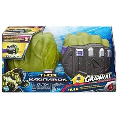 Punhos Esmagadores Do Hulk Luva Eletronica Do Hulko - Hasbro