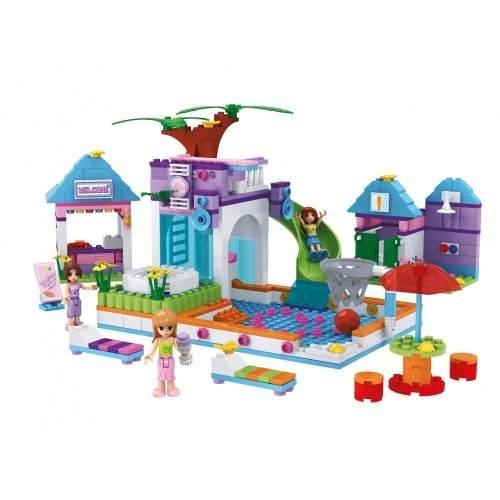 Blocos Para Montar Tipo Lego Clube Divertido 485 Peças 2552