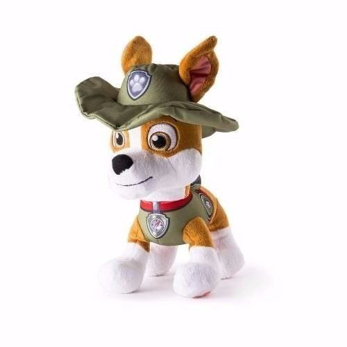 Patrulha Canina - Tracker Pelúcia 30 Cm - Sunny