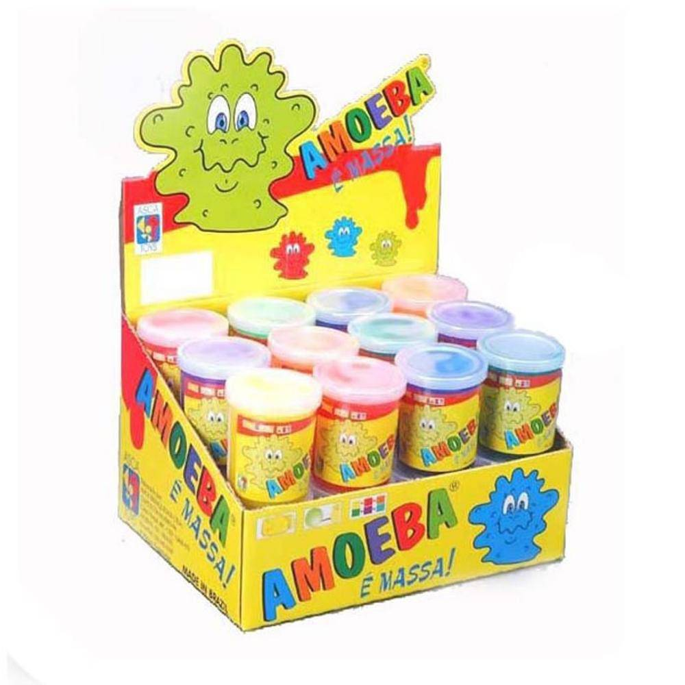 Amoeba Kit com 10 Potes de 110 Gramas Cada Pote