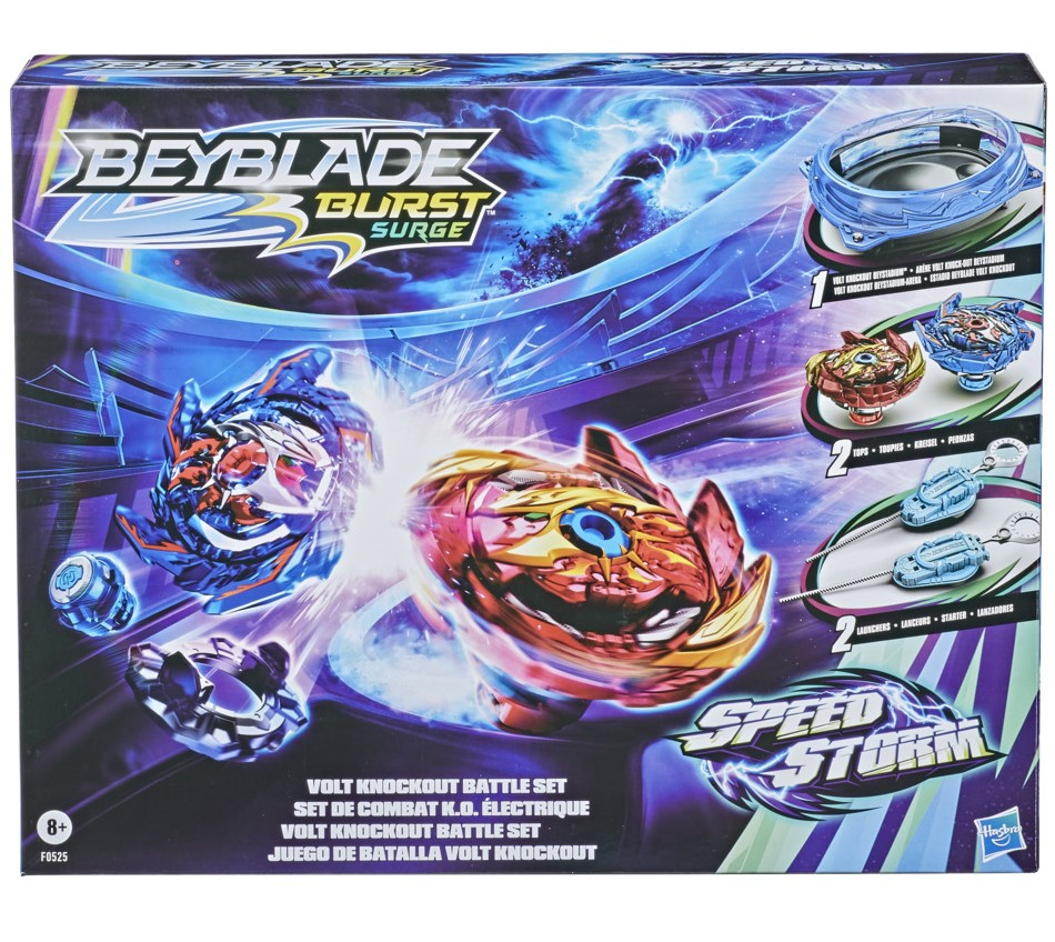 Arena Beyblade Vitoria eletrizante - Kit de Batalha F0525 - Hasbro