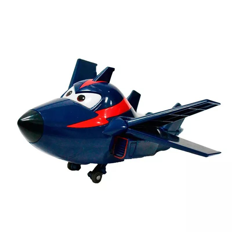 Avião Super Wings Agent Chace 12cm 8006-4 - Fun