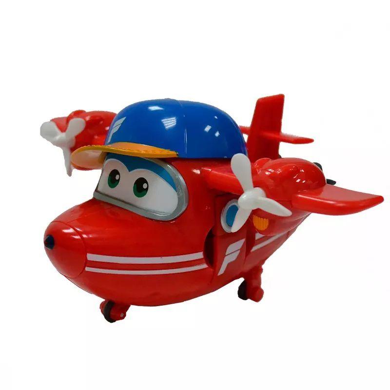 Avião Super Wings Flip 12cm 8006-4 - Fun