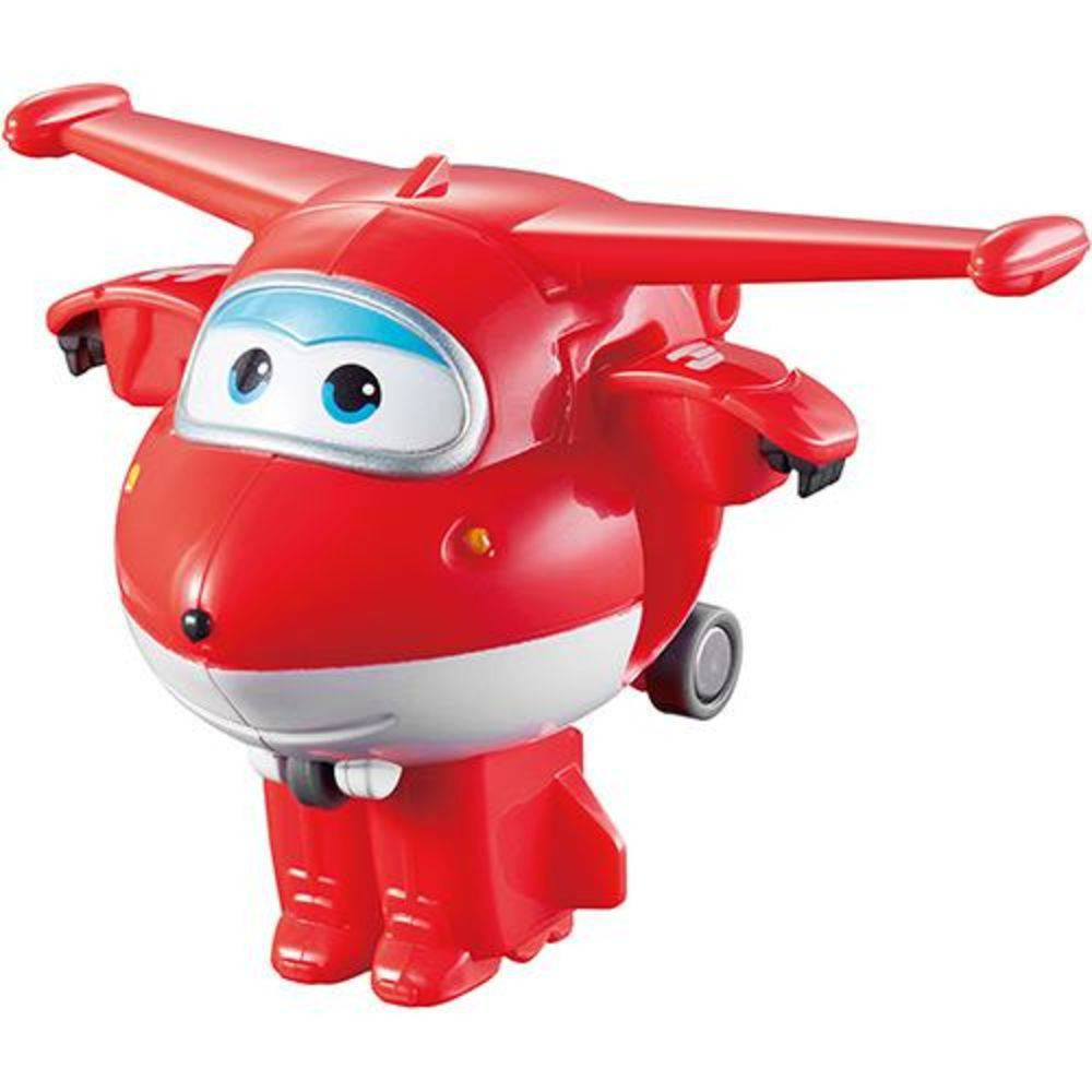 Avião Super Wings Jett 12cm 8006-4 - Fun