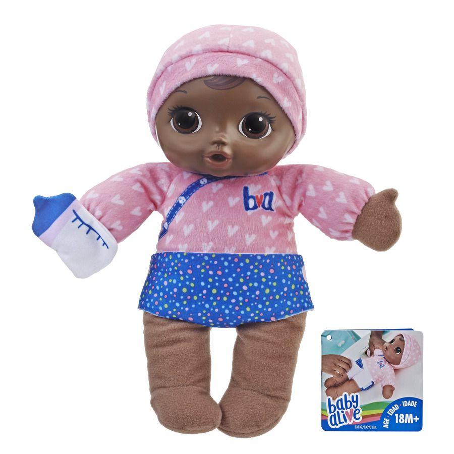 Baby Alive Dorme Bebê Negra E3090 - Hasbro