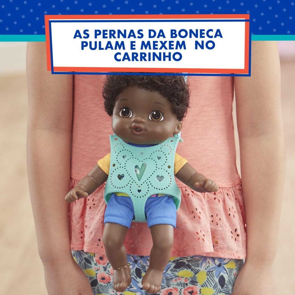 Baby Alive Littles Turma Estilosa Boy Negro E6646 - Hasbro
