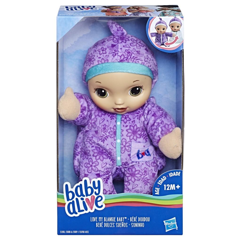 Baby Alive Soninho Morena Roupa Roxa E0780 - Hasbro