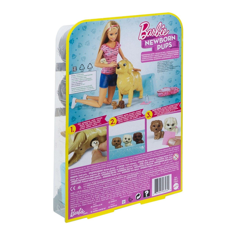 Barbie  Filhotinhos Recém Nascidos - Mattel