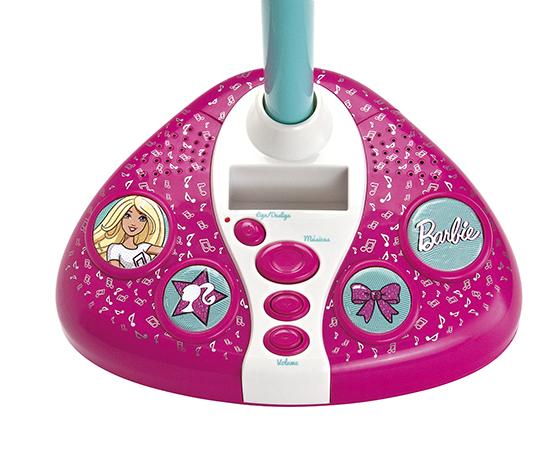 Barbie - Microfone Karaokê Fabuloso da Barbie - Fun