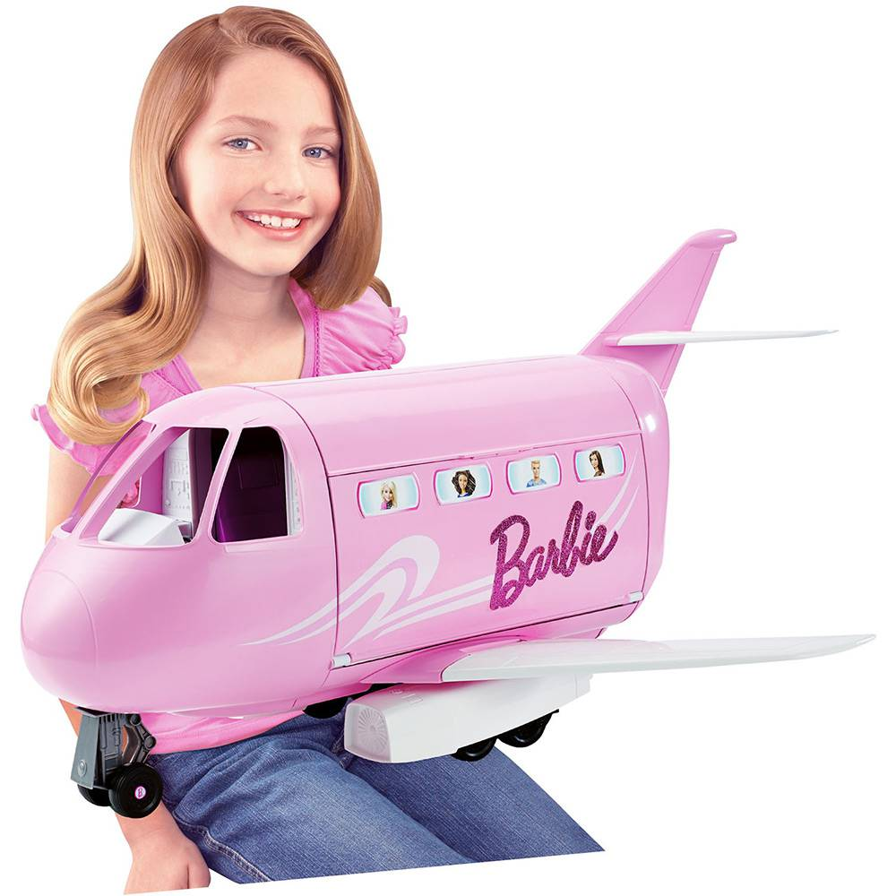 Barbie Real Avião de Luxo FNF09 - Mattel
