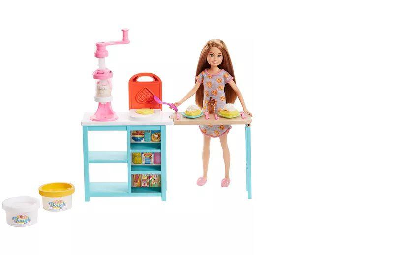 Barbie Stacie Estação de Doces - Mattel