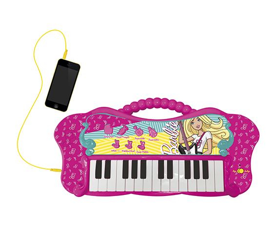 Barbie - Teclado Fabuloso da Barbie Com Entrada para MP3 - Fun