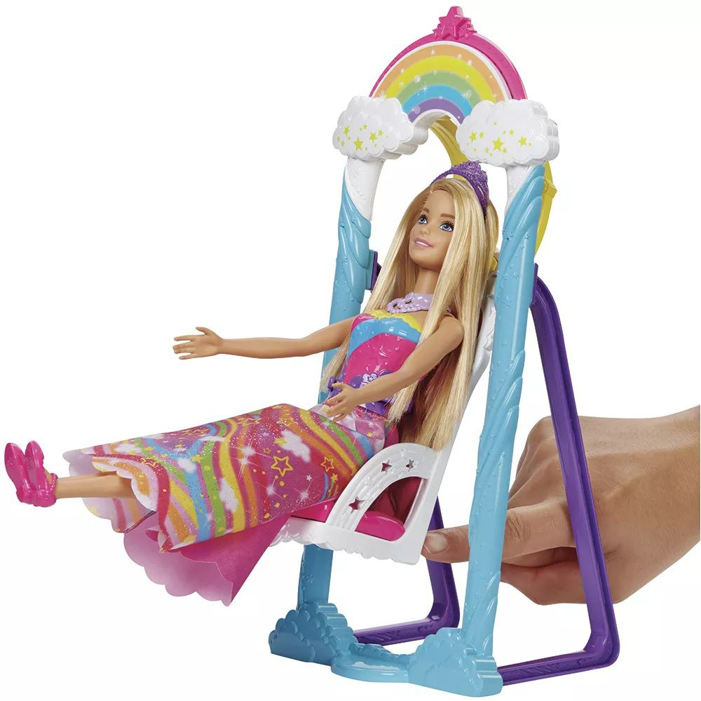 Barbie Trono de Arco Íris - Mattel