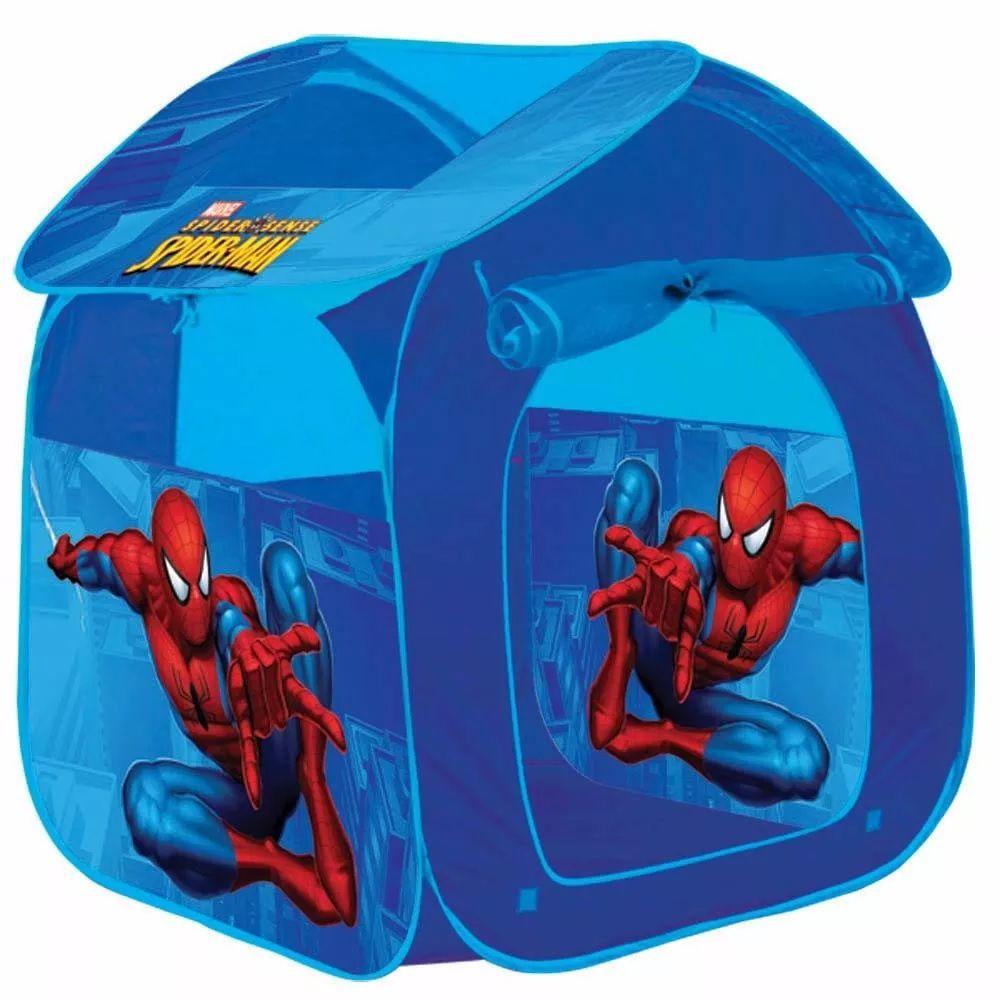 Barraquinha Infantil Portatil Casa Homem Aranha Herói Marvel - Zippy Toys