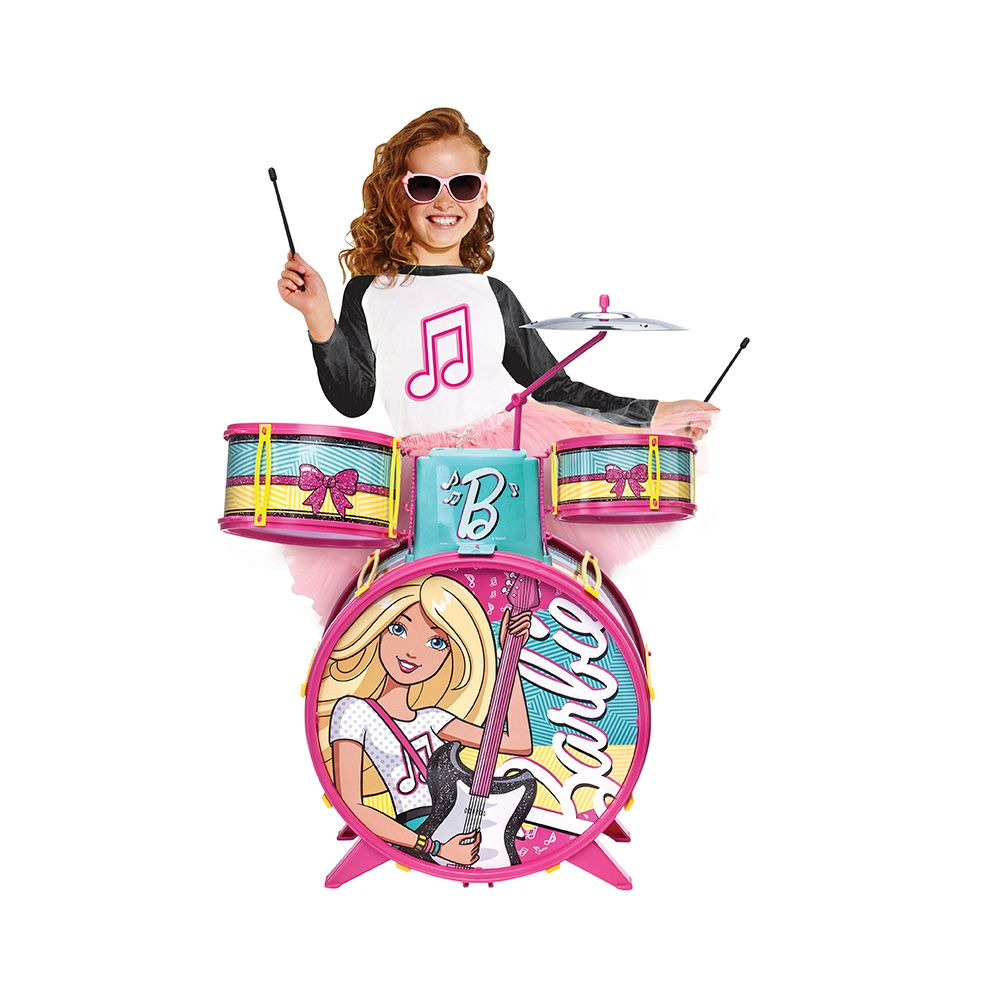 Barbie - Bateria Infantil da Barbie - Fun