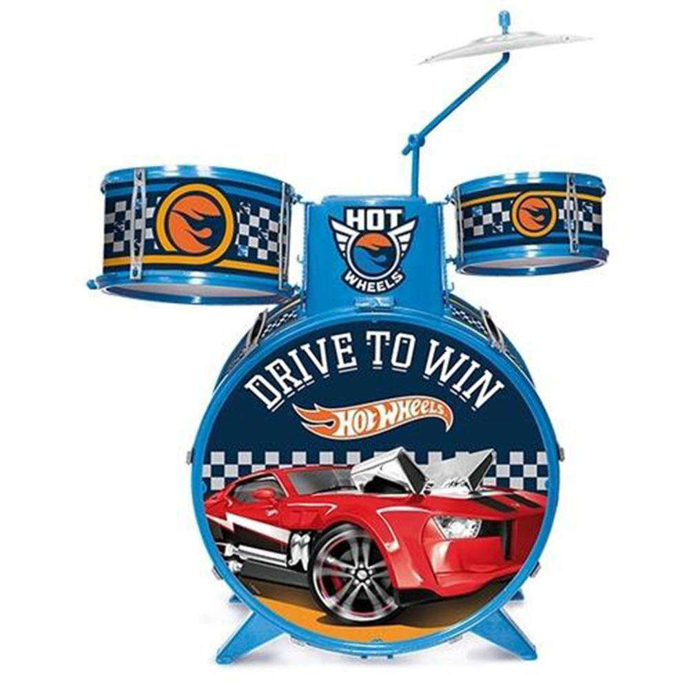 Bateria Infantil Hot Wheels 7273-4 - Fun