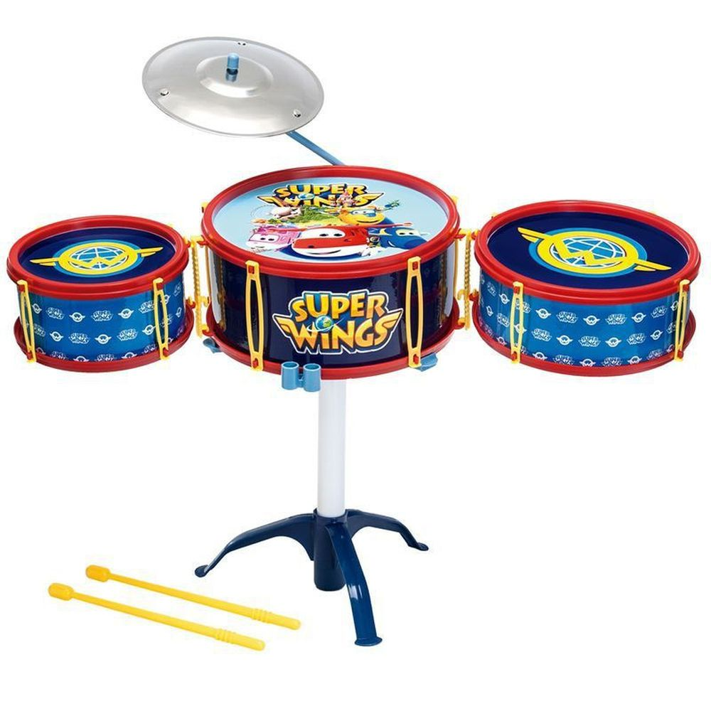 Bateria Infantil Super Wings  F00050 - FUN