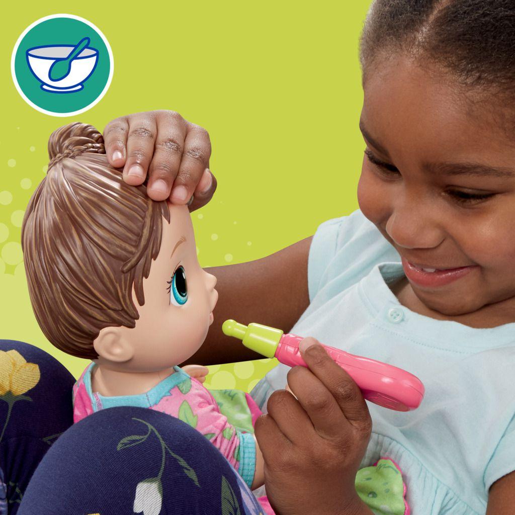 Boneca Baby Alive  Aprendendo a Cuidar Morena E6942 - Hasbro