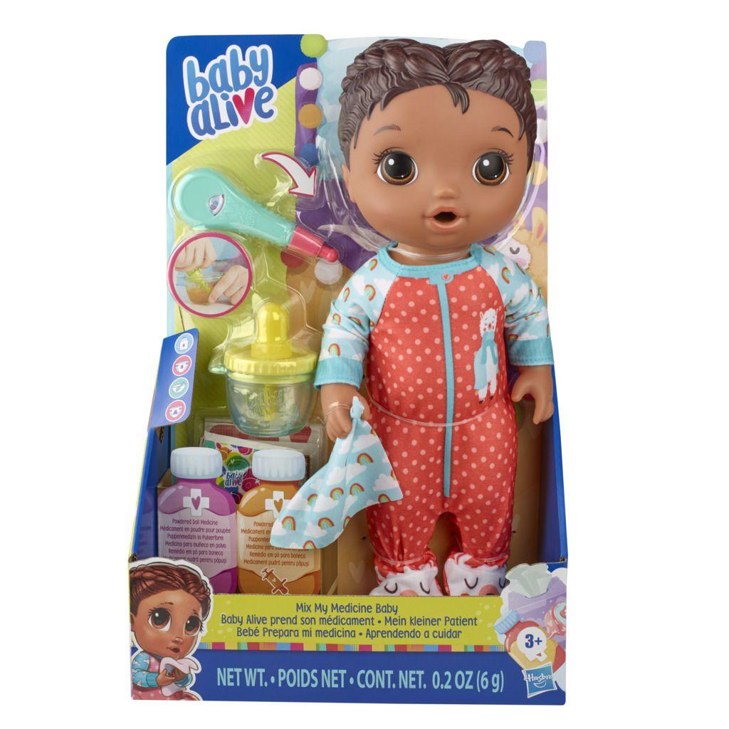 Boneca Baby Alive  Aprendendo a Cuidar Negra E6941 - Hasbro