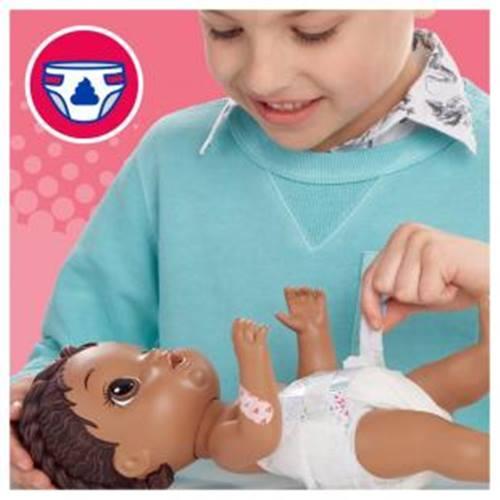 Boneca Baby Alive  Aprendendo a Cuidar Negra - Hasbro E6941