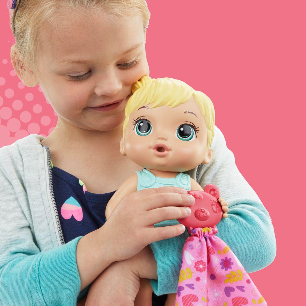 Boneca Baby Alive Bebê Coraçãozinho Loira E6946 - Hasbro