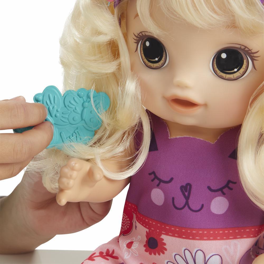 Boneca Baby Alive Penteados Diferentes Loira - Cabelos Magicos E5241 - Hasbro