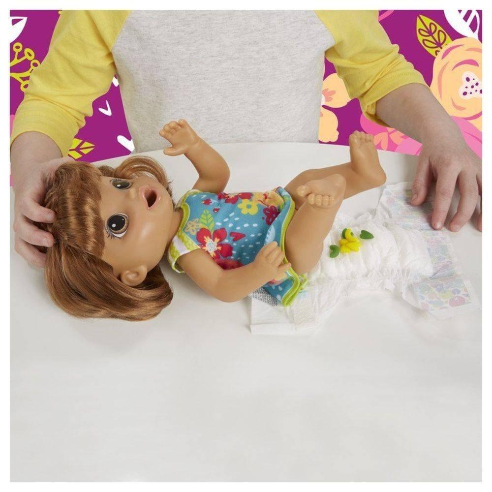 Boneca Baby Alive Festa das Massas Morena E3696 - Hasbro