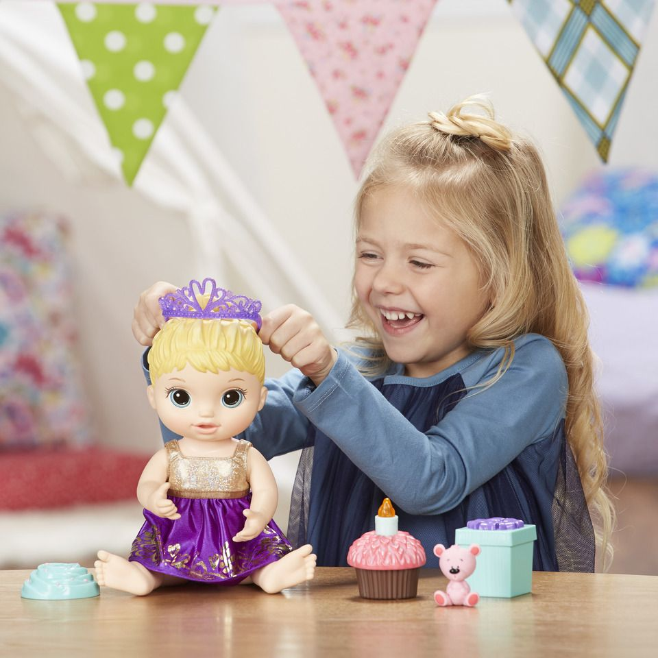 Boneca Baby Alive Festa Surpresa Loira E0596 - Hasbro