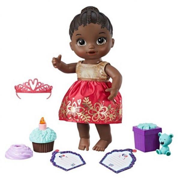 Boneca Baby Alive Festa Surpresa Negra E0292  - Hasbro