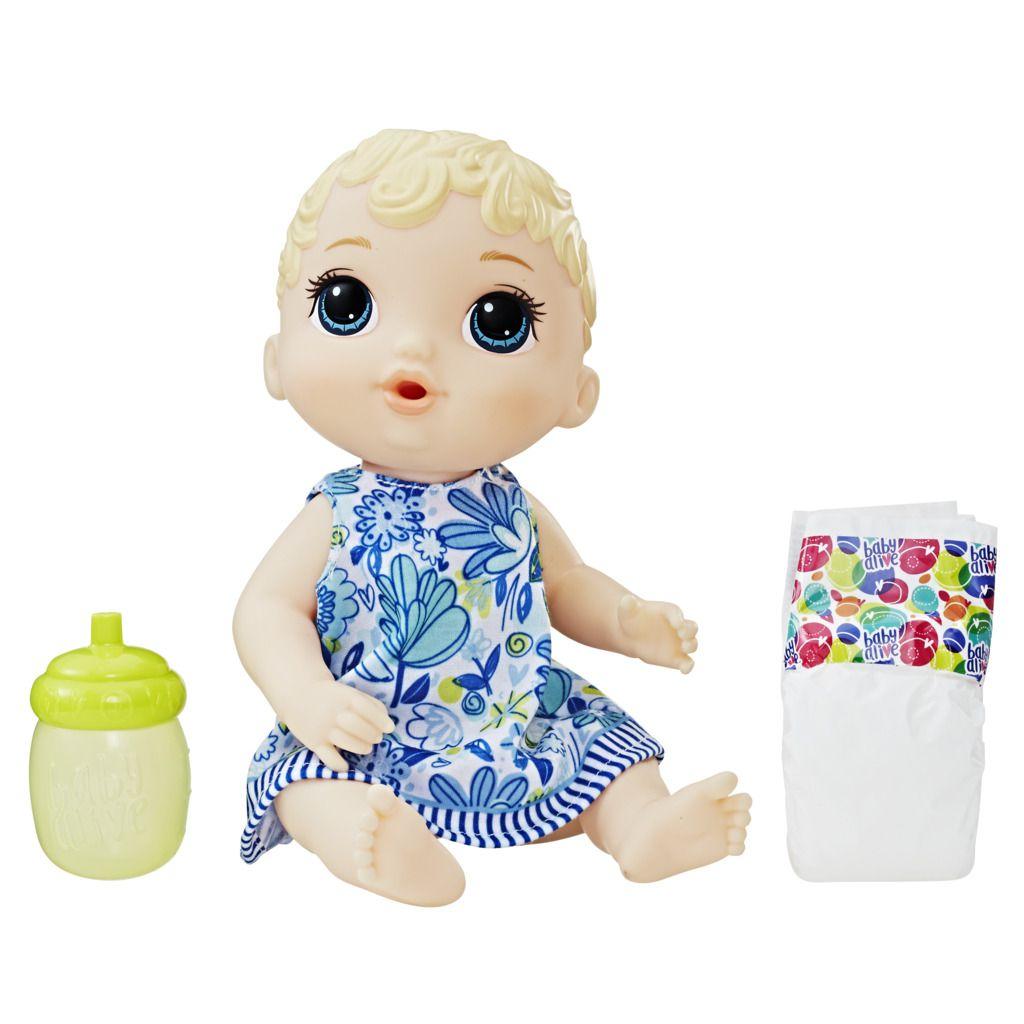 Boneca Baby Alive Hora Do Xixi Loira E0385 - Hasbro