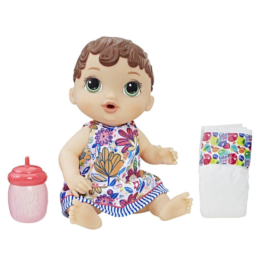 Boneca Baby Alive Hora Do Xixi Morena E0499 - Hasbro