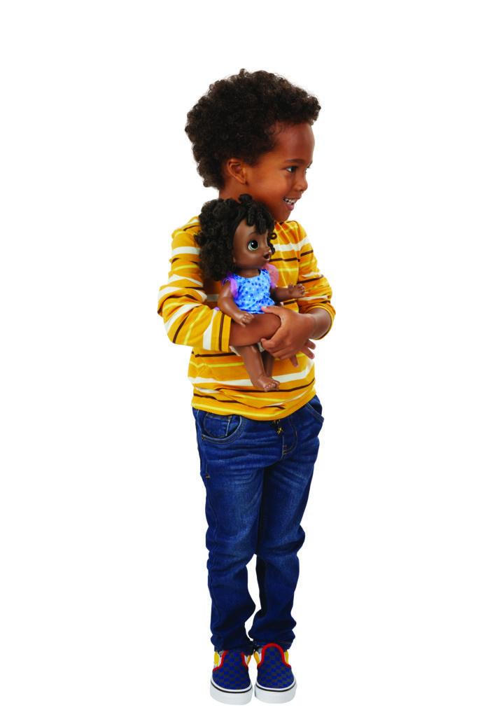 Boneca Baby Alive Misturinha de Sabor Negra E6945 - Hasbro