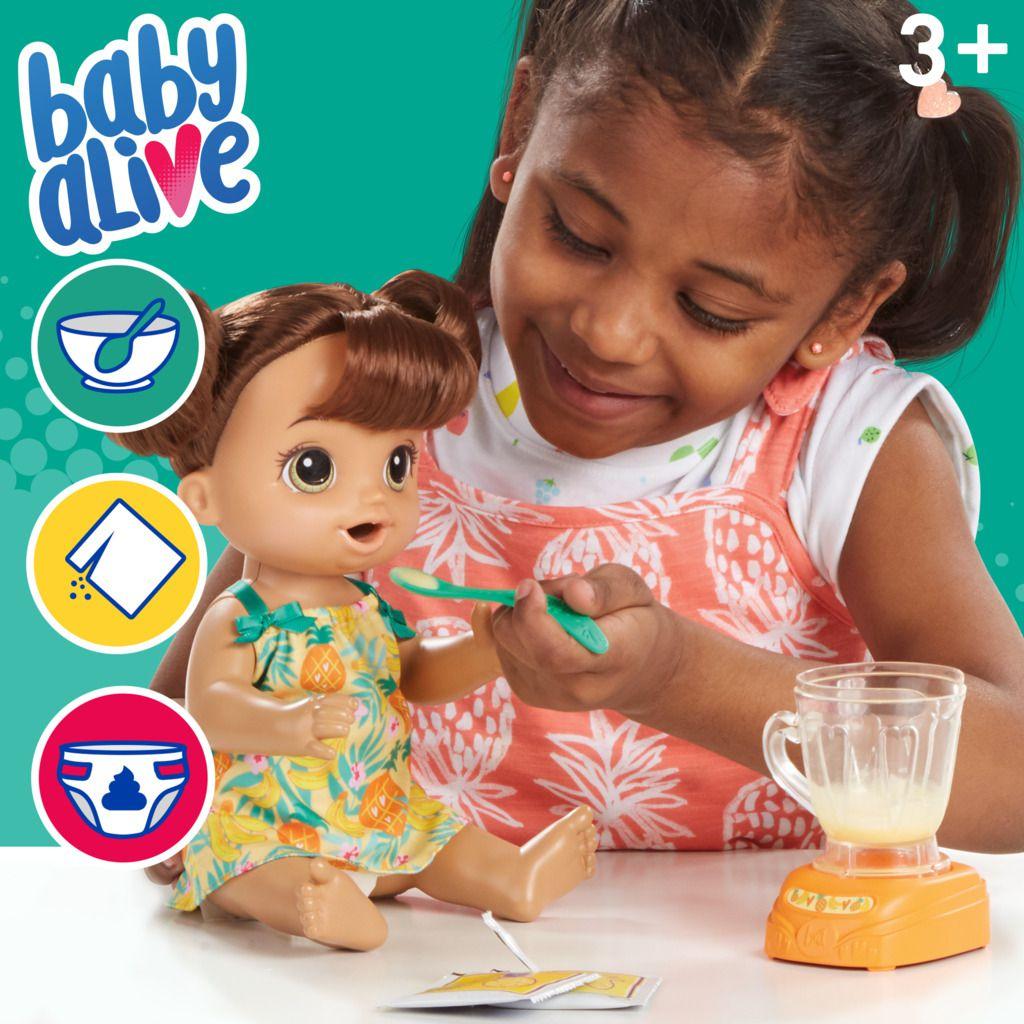 Boneca Baby Alive Misturinha Tropical Morena E6944 - Hasbro