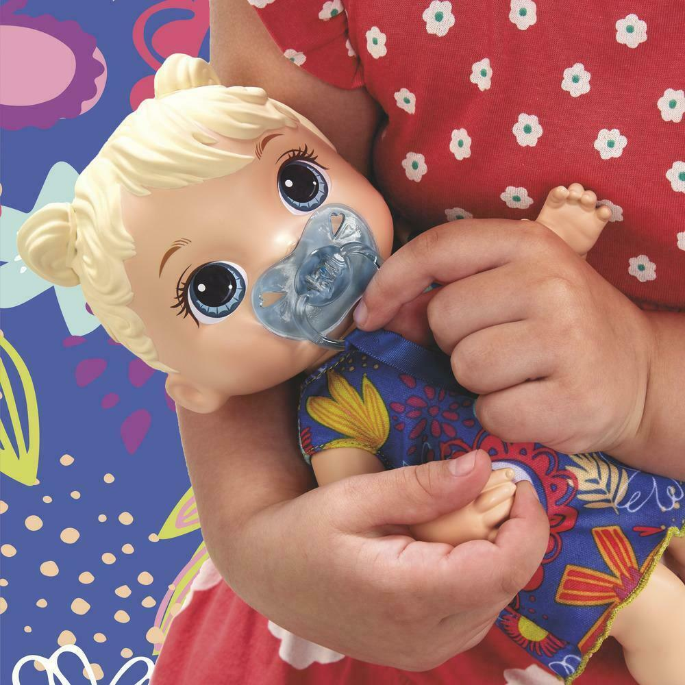 Boneca Baby Alive Primeiros Sons Loira E3690 - Hasbro