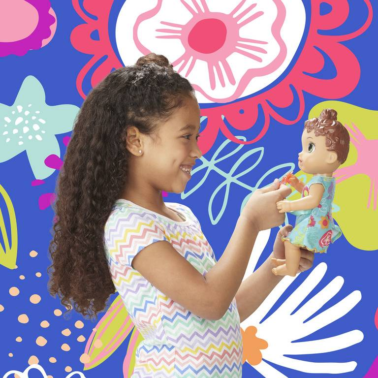 Boneca Baby Alive Primeiros Sons Morena E3688 - Hasbro