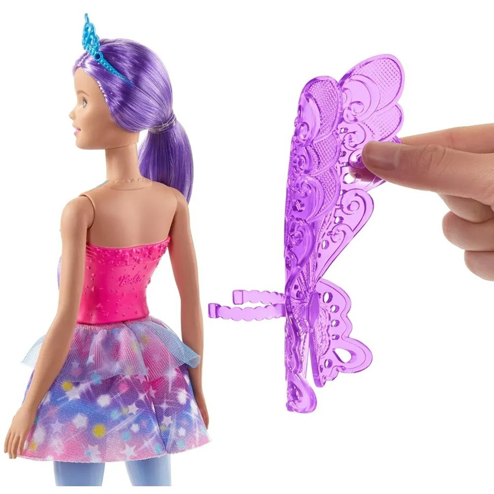 Boneca Barbie Fada Dreamtopia GJJ98 GJK00 - MATTEL