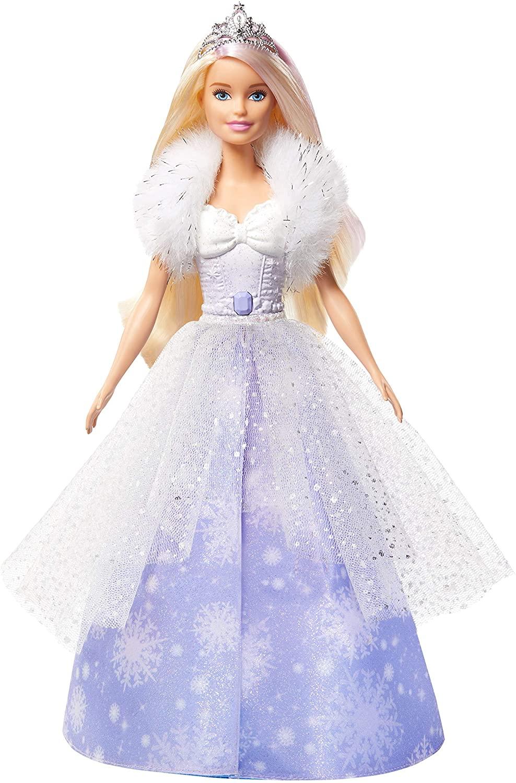 Boneca Barbie Princesa Vestido Magico GKH26 - Mattel