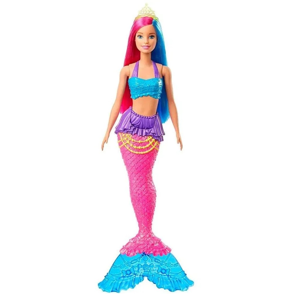 Boneca Barbie Sereia Dreamtopia GJK07 GJK08 - MATTEL
