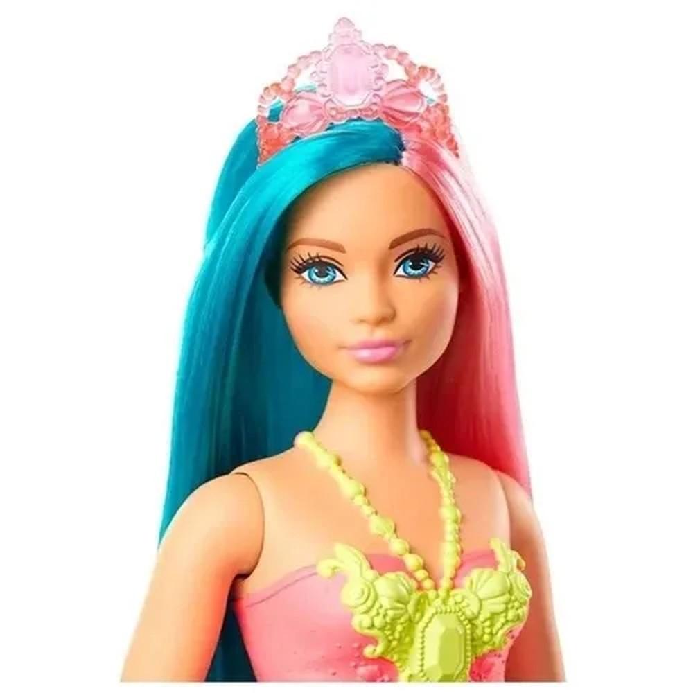 Boneca Barbie Sereia Dreamtopia GJK07 GJK11 - MATTEL
