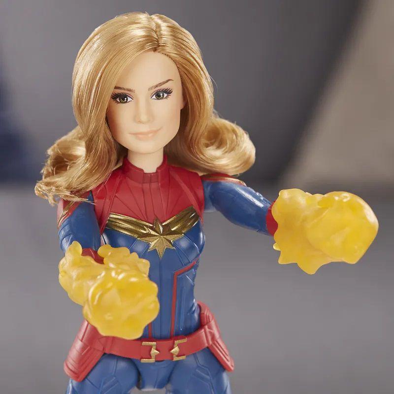 Boneca Capitã Marvel 30cm E4565 - Hasbro