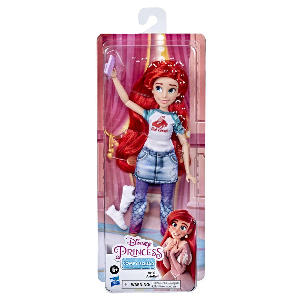 Boneca Disney Princesas Comfy Ariel E9160 - Hasbro