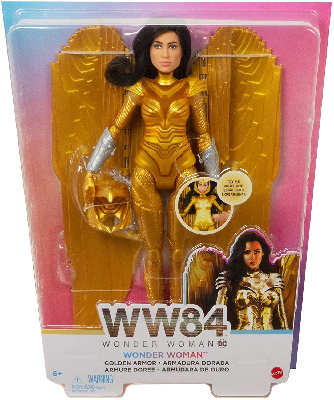 Boneca Eletronica Mulher Maravilha WW84 DC GKH97 - Mattel