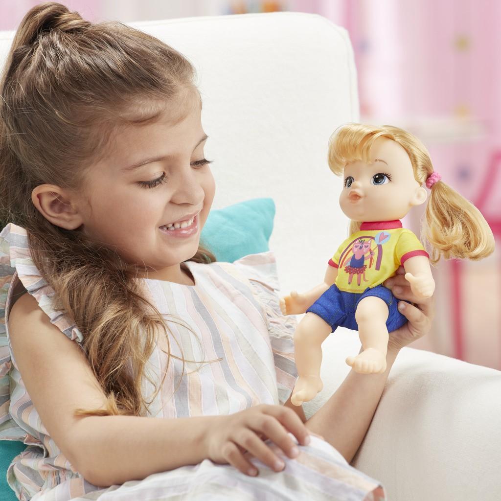 Boneca Littles Baby Alive Turminha Estilosa Loira Astrid E8409 E8407 - Hasbro