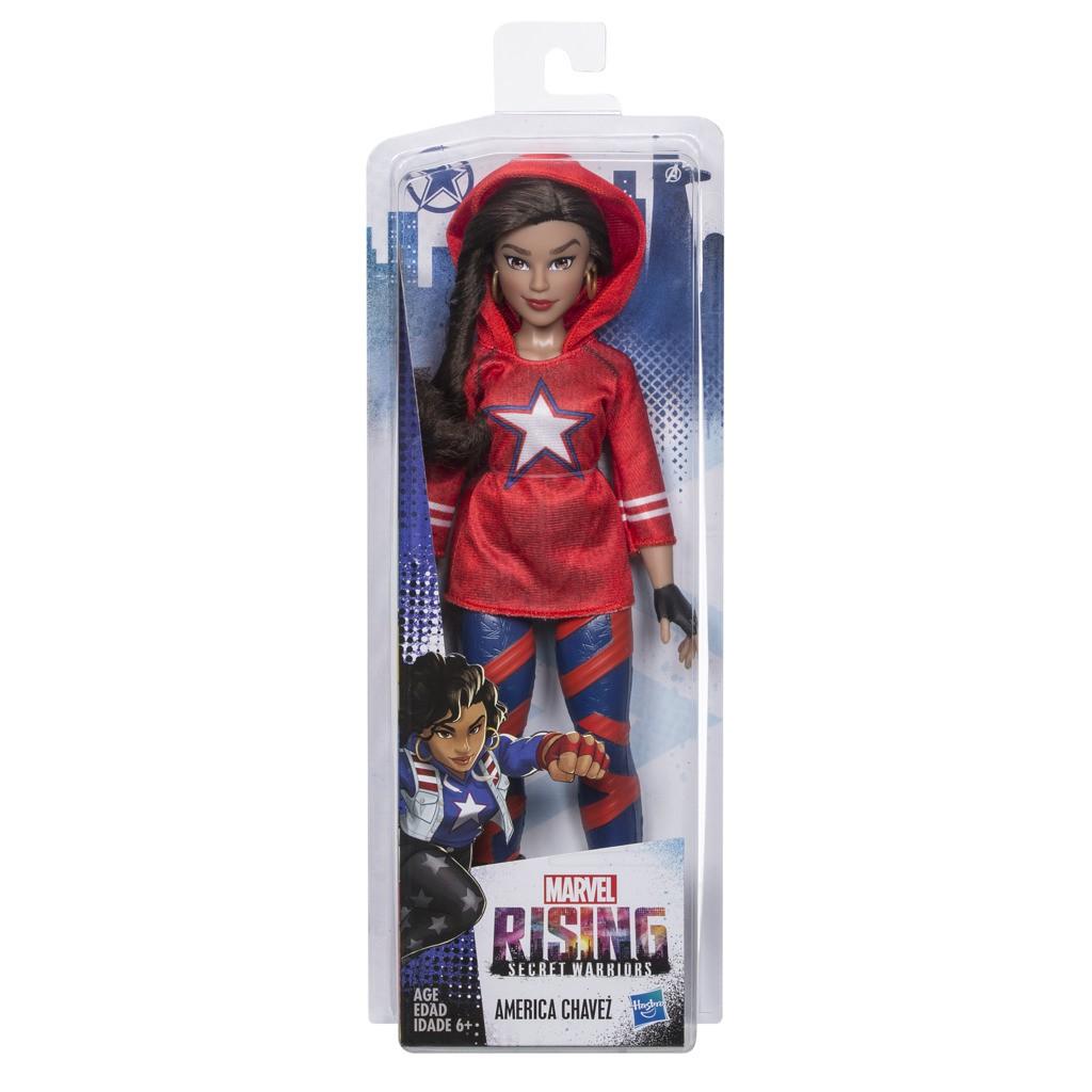 Boneca Marvel Rising 28 Cm America Chavez Secret Warriors E2715 E2700 - Hasbro