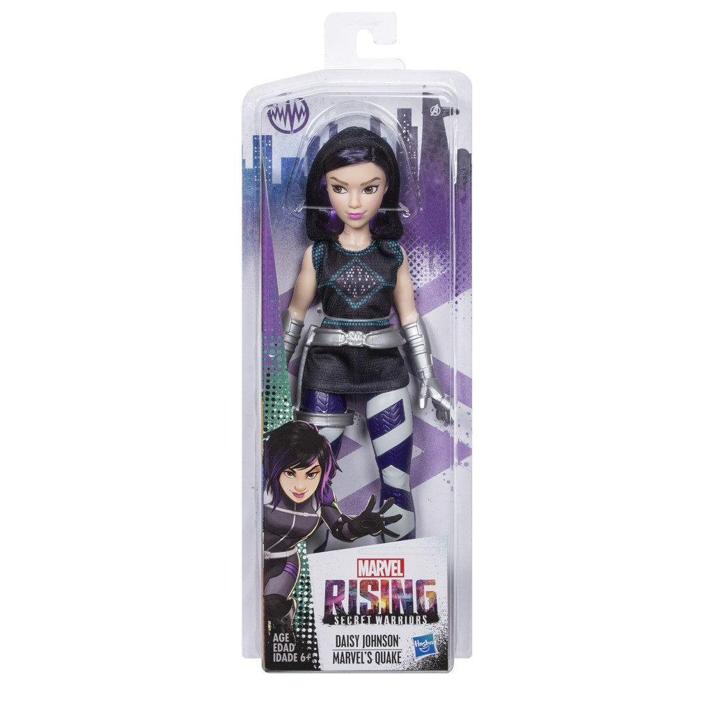 Boneca Marvel Rising 28 Cm Daisy Johnson Secret Warriors E2714 E2700 - Hasbro
