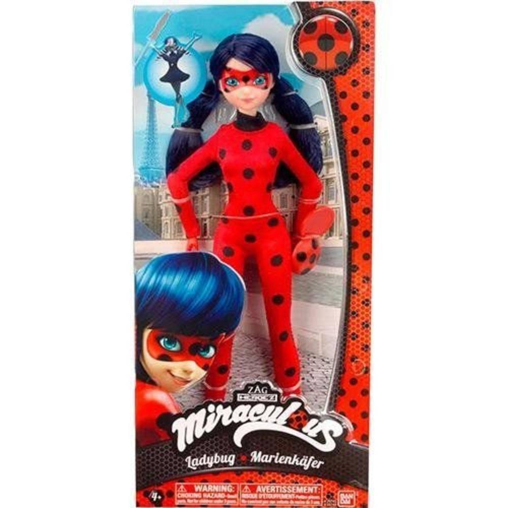 Boneca Miraculous Ladybug 26 Cm - Sunny 1646